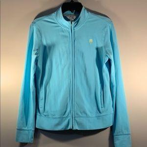 LILLY PULITZER Full-Zip Lightweight, Cotton Jacket